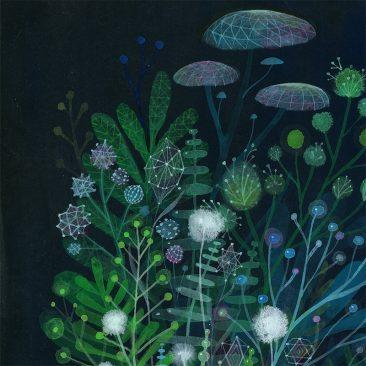 Aaron Piland - Inner Garden (Detail 1)