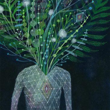 Aaron Piland - Inner Garden (Detail 2)