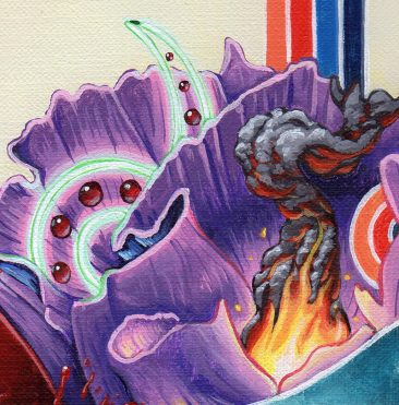 Adam Augustyn - Doom Flower (Detail 3)