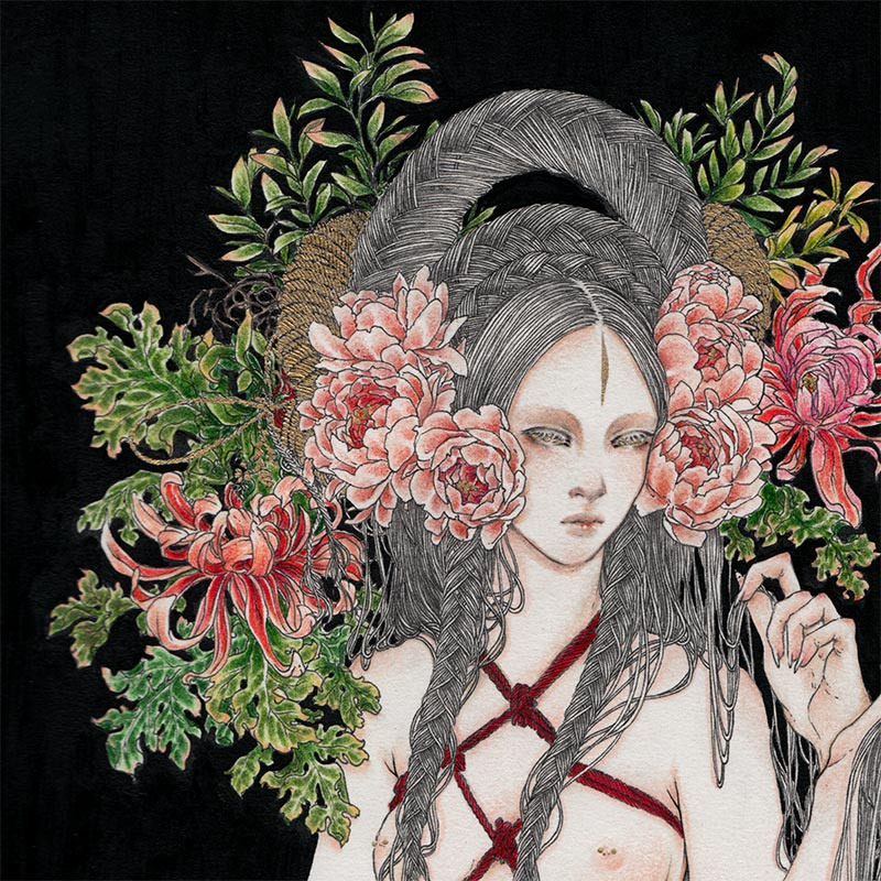 Andi Soto - The Ritual III (Detail 1)