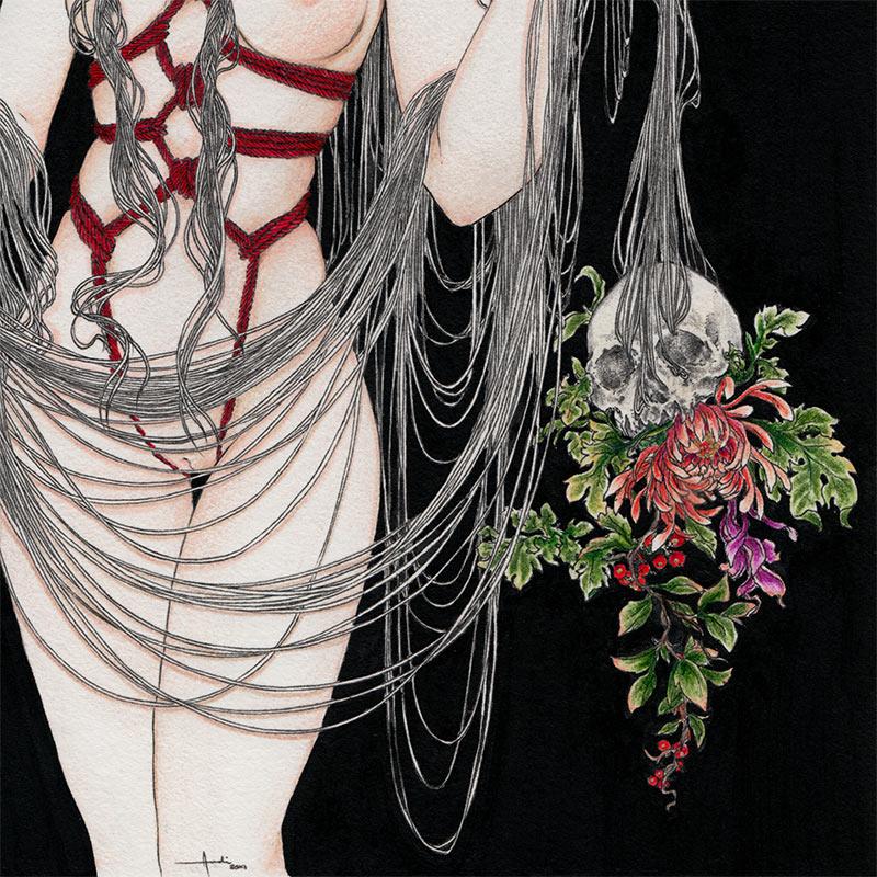 Andi Soto - The Ritual III (Detail 2)