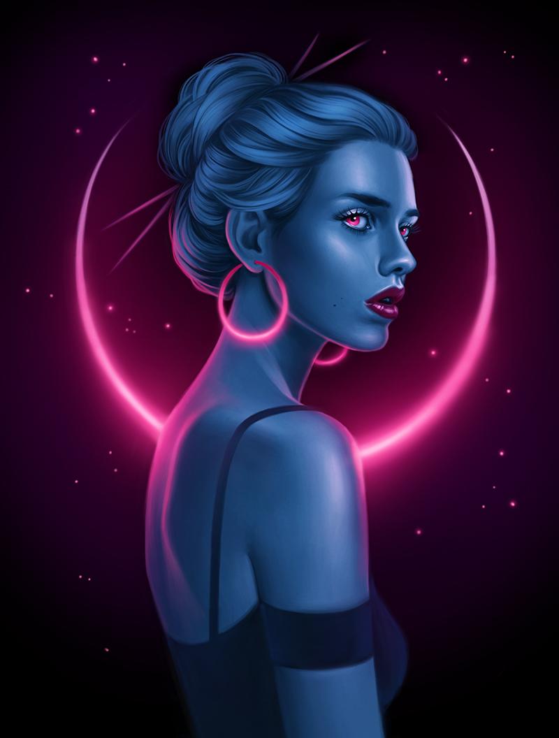 Allison Reimold - Neon Crescent