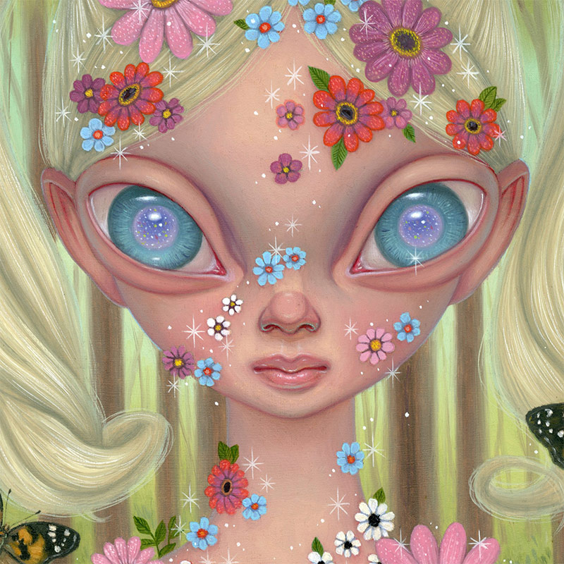 Ana Bagayan - In Bloom (Detail 2)