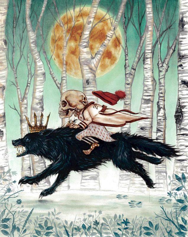 Joe Vollan - Young Mr. Mordrake Was Raised on Wolf's Milk