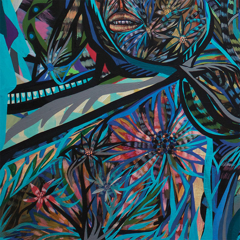 Jon Todd - Flanked by Ghosts 2 (Detail 3)