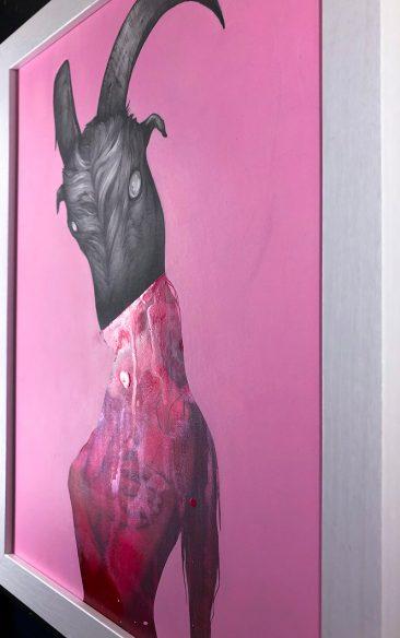 Matt Byle - Lust (Framed - Side)