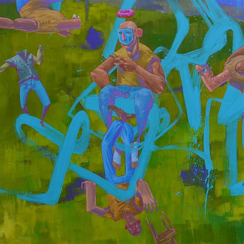 Tof Vanmarque - L'humanité sur le fil de l'abstraction (Detail 2)