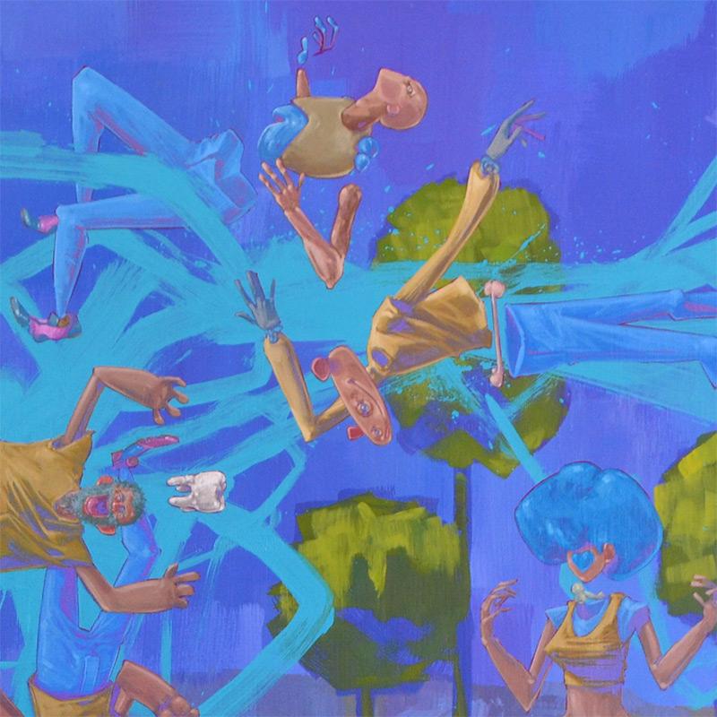 Tof Vanmarque - L'humanité sur le fil de l'abstraction (Detail 3)