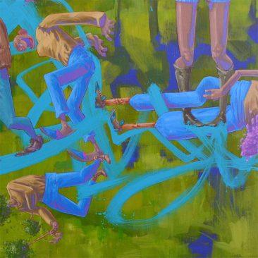Tof Vanmarque - L'humanité sur le fil de l'abstraction (Detail 4)