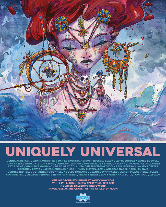 'Uniquely Universal' Exhibition – WOW x WOW Gallery – Announcement