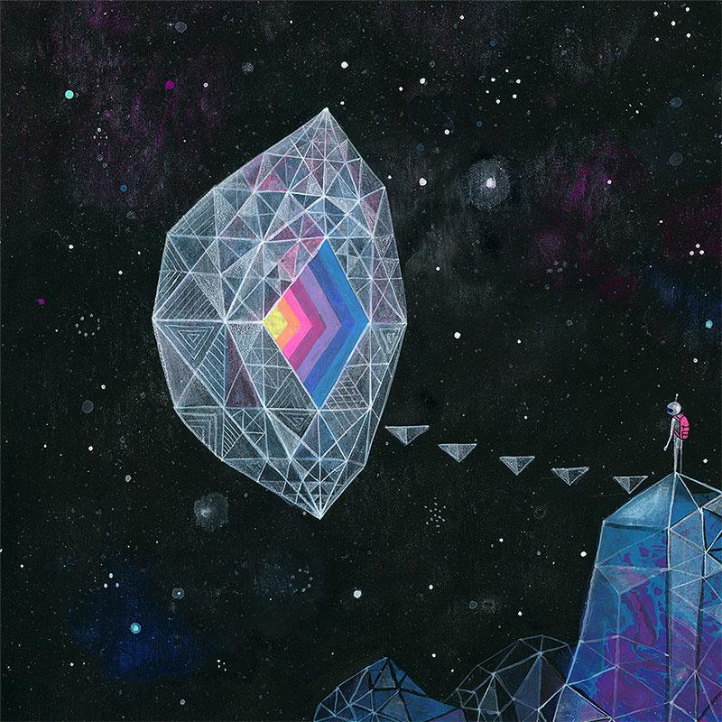 Aaron Piland - Crystal Portal (Detail 1)
