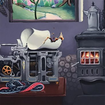 Adam Augustyn - Death of the Serpent (Detail 4)