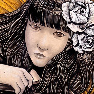 Daniel Bautista - The Girl (Detail 1)