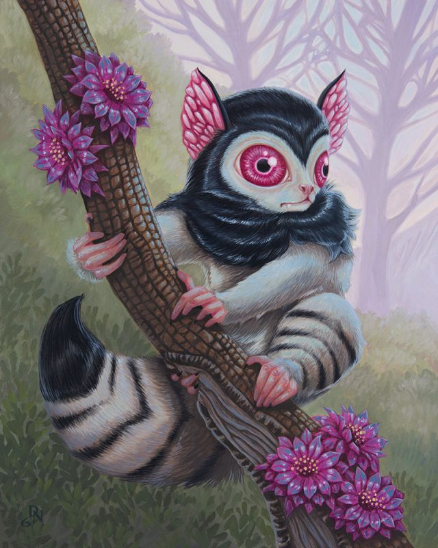 David Natale - Blood Eyed Lemur