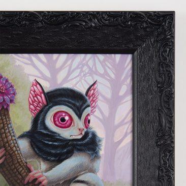David Natale - Blood Eyed Lemur (Frame Detail)