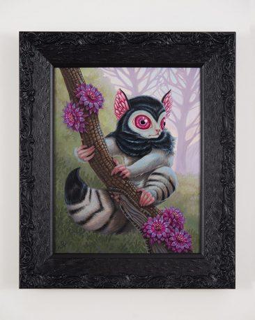 David Natale - Blood Eyed Lemur (Framed)