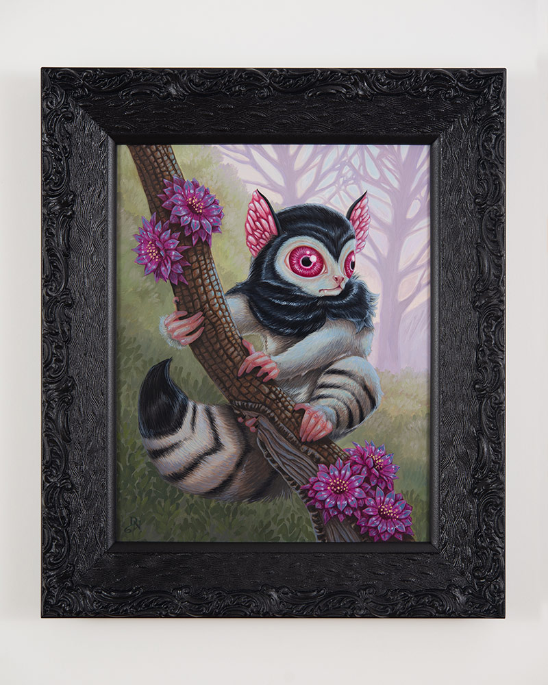 David Natale - Blood Eyed Lemur (Framed)