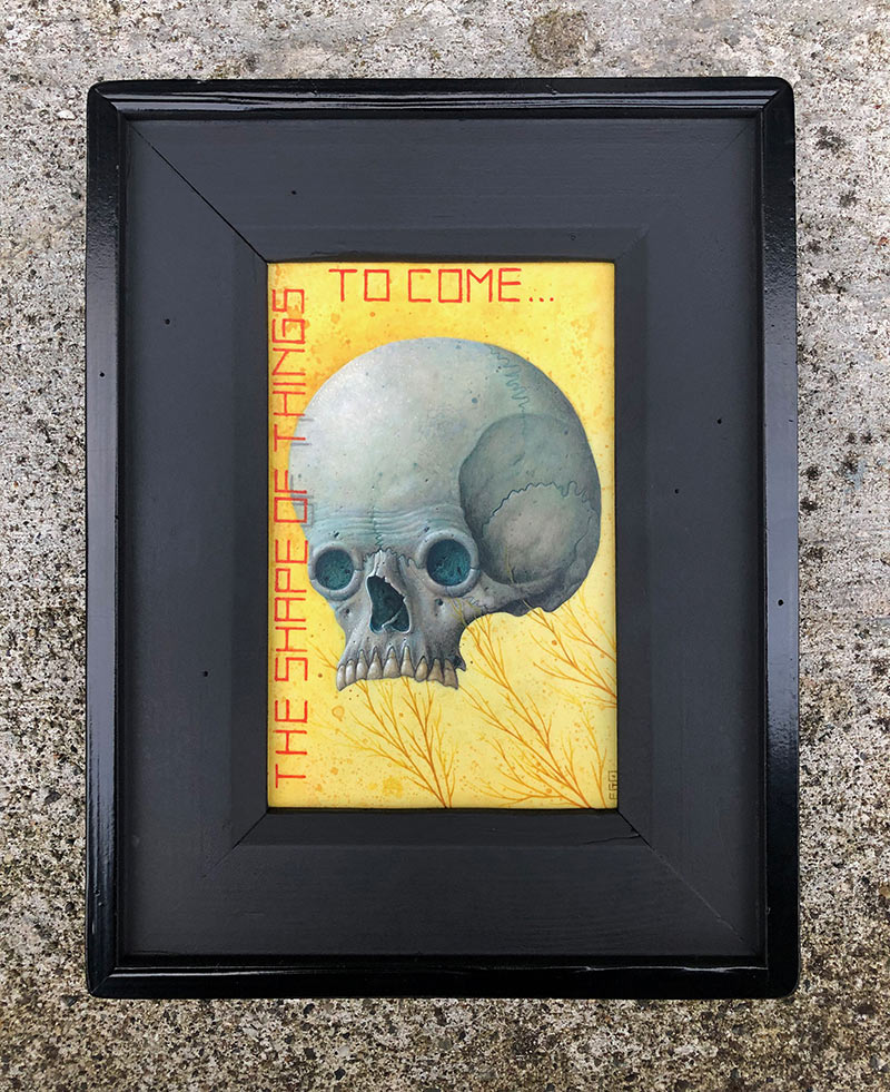 Ego - The Shape of Things to Come (Framed - Front)