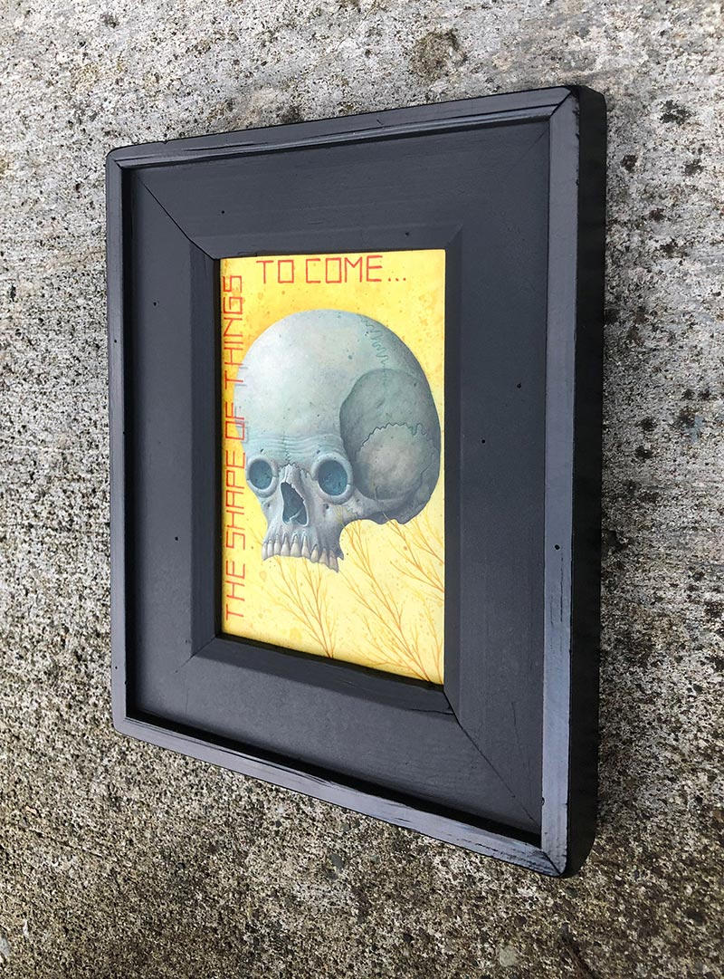 Ego - The Shape of Things to Come (Framed - Side)