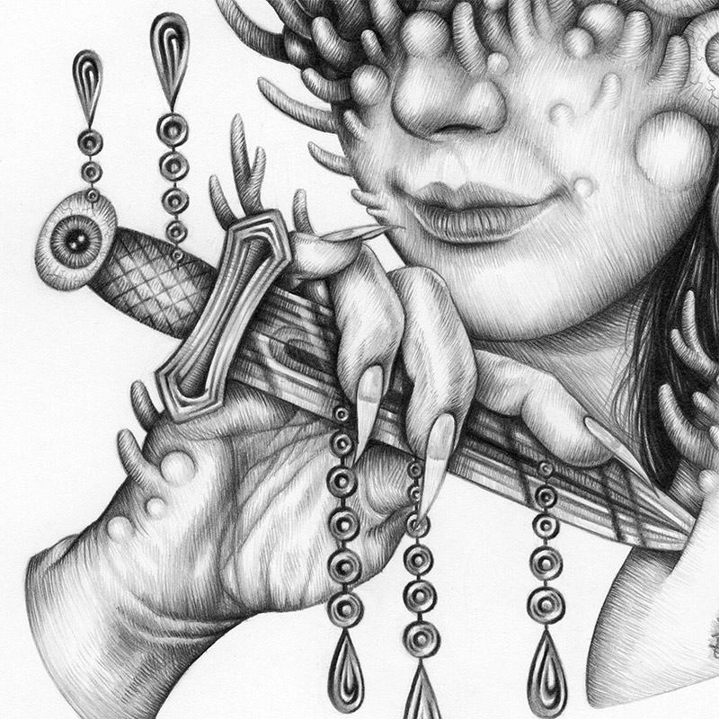 Emma Black - Sacred Rite (Detail 2)