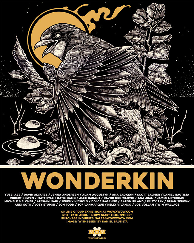 'WonderKin' Exhibition – WOW x WOW Gallery – Announcement