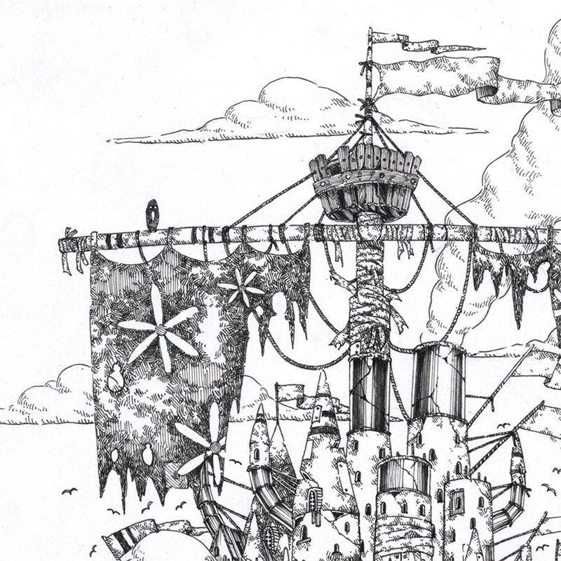 Yusei Abe - Vimana VI (Detail 1)