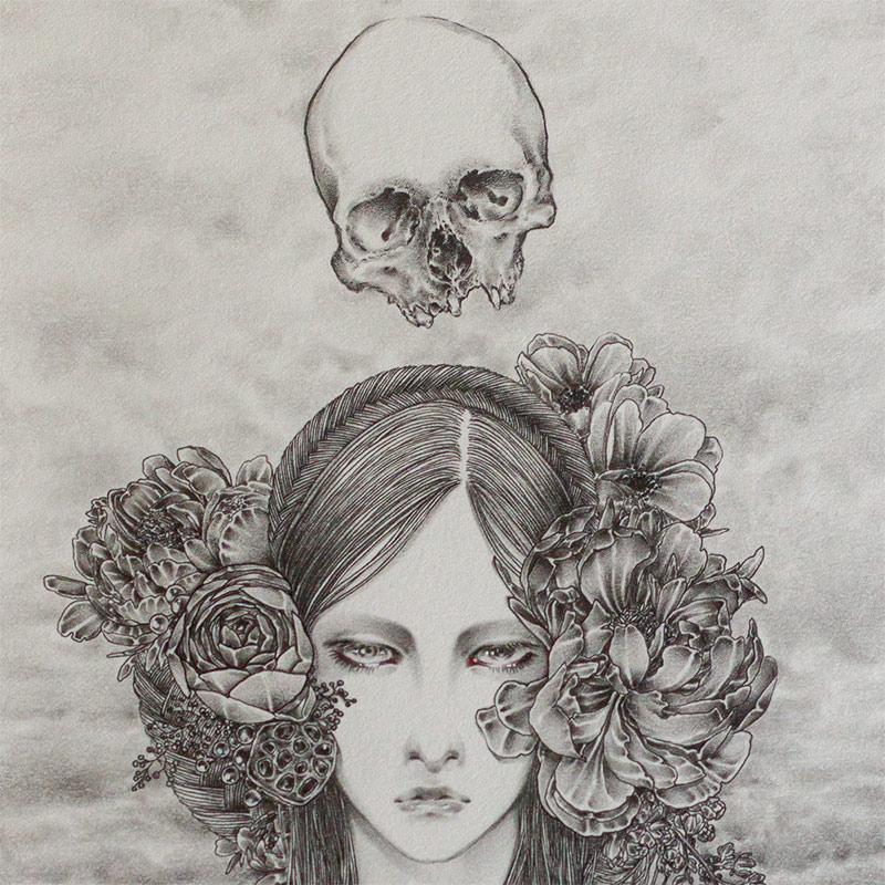 Andi Soto - Dark Skies Ahead (Detail 1)