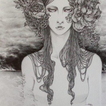 Andi Soto - Dark Skies Ahead (Detail 2)