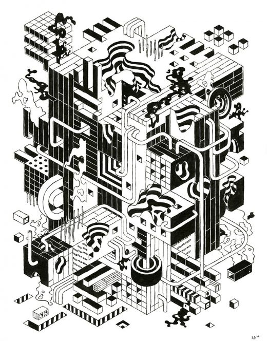 Andrew DeGraff - Unfinished Construction Site 26