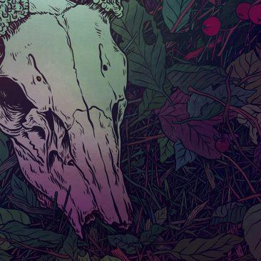 Anna Ezer - Antlers (Detail 3)