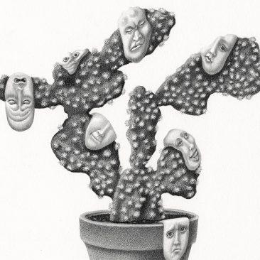 Armando Veve - Emotional Cactus (Detail)