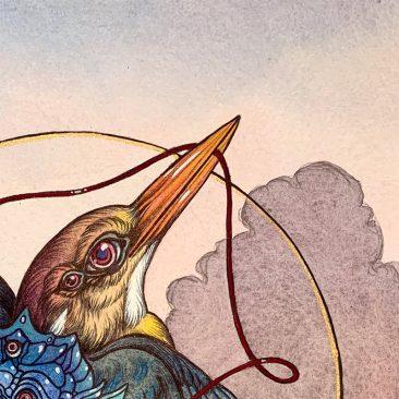 Caitlin Hackett - Sky Bound (Detail 1)