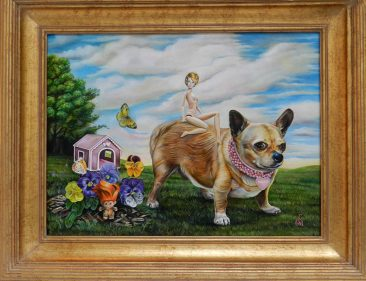 Claudia Griesbach-Martucci - Tinkerbell (Framed)