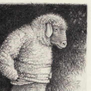 David Alvarez - Sheep (Detail 1)