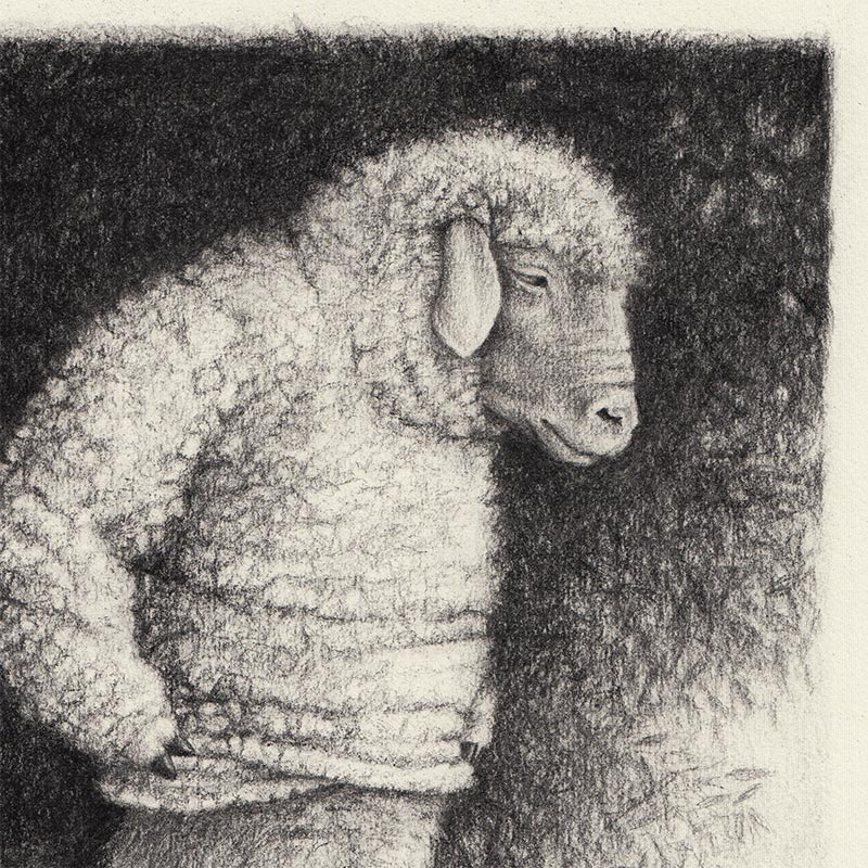 David Alvarez - Sheep (Detail 1)