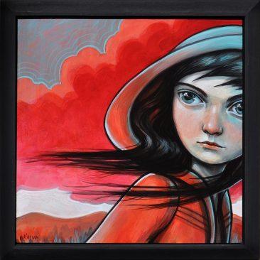Kelly Vivanco - Thunderhead (Framed)