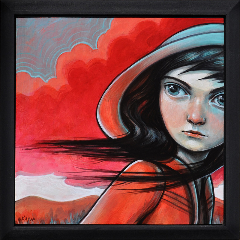 Kelly Vivanco - Thunderhead (Framed)
