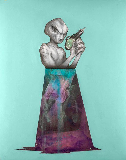 Matt Byle - Aliens, man