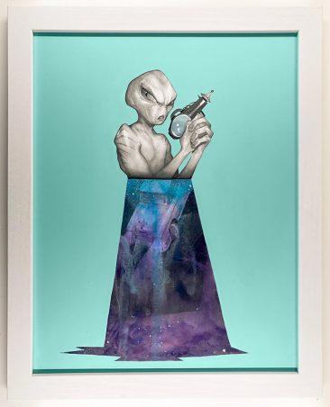 Matt Byle - Aliens, man (Frame - Front)