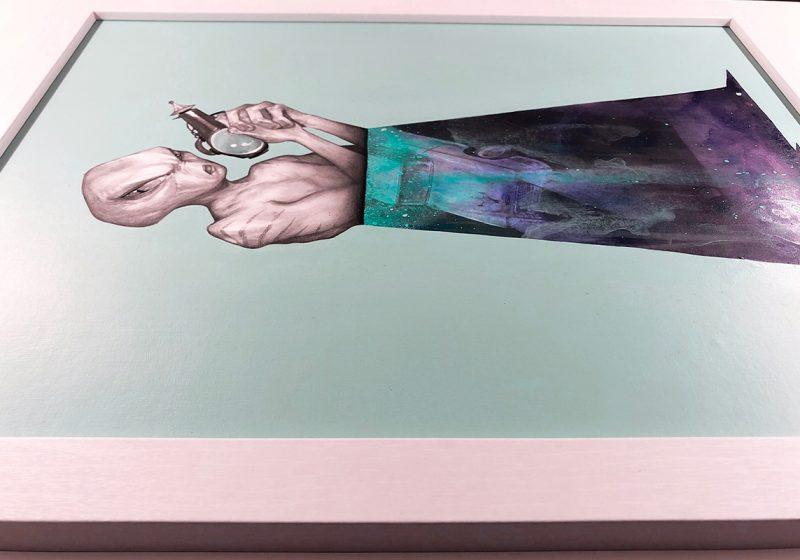 Matt Byle - Aliens, man (Frame - Side)