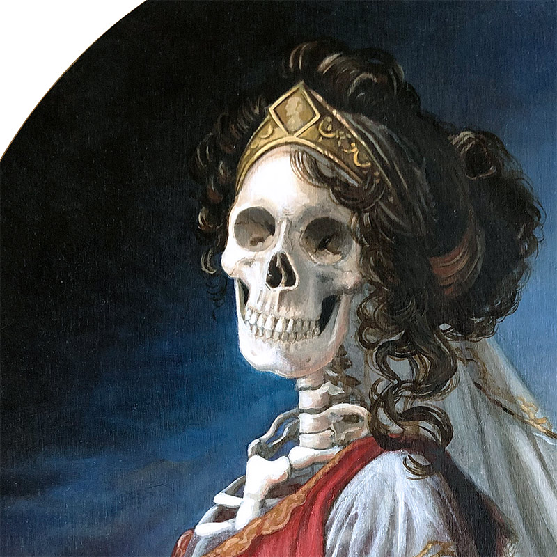 Michele Melcher - Queen of Prussia (Detail 1)