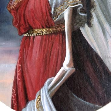 Michele Melcher - Queen of Prussia (Detail 2)