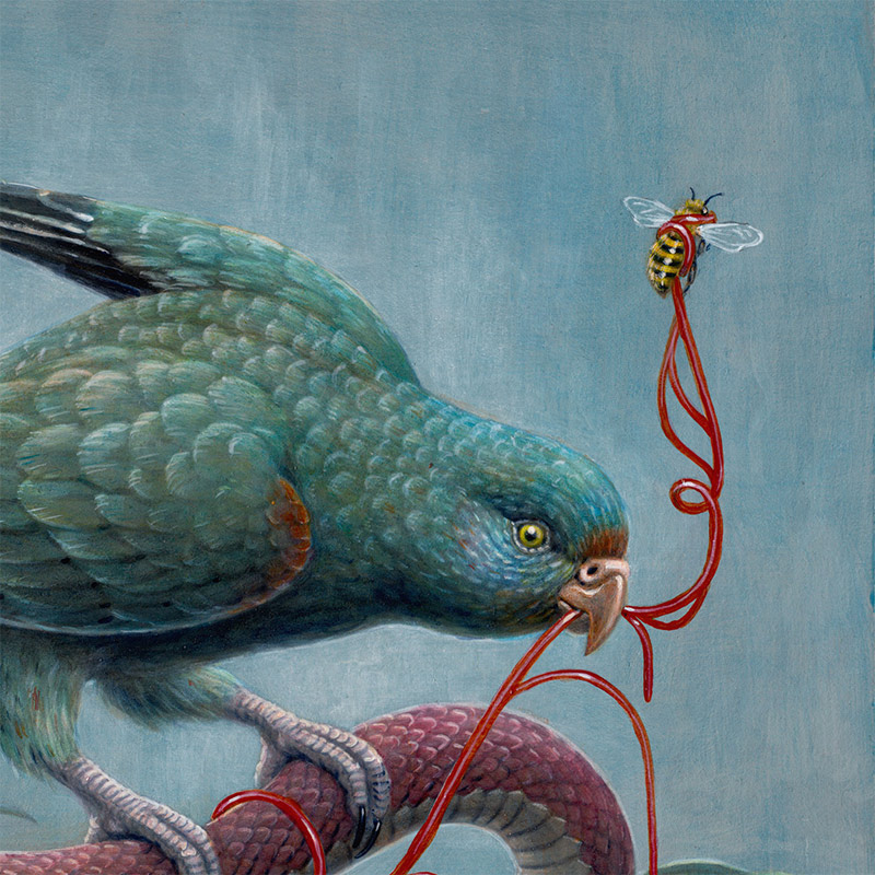 Nick Sheehy - A Fistful of Sky (Detail 1)