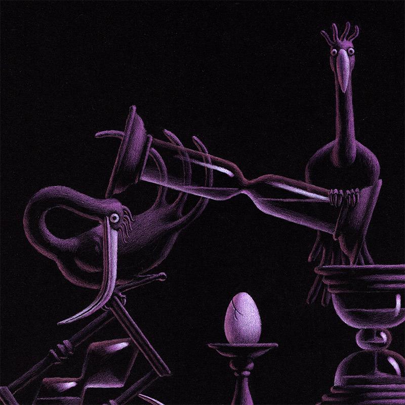 Daniele Castellano - Acrobats (Detail 1)