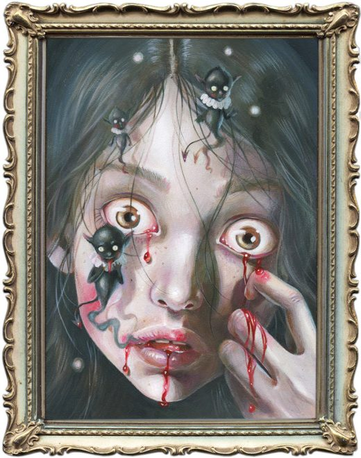 Hanna Jaeun - Demons in My Head (Framed)