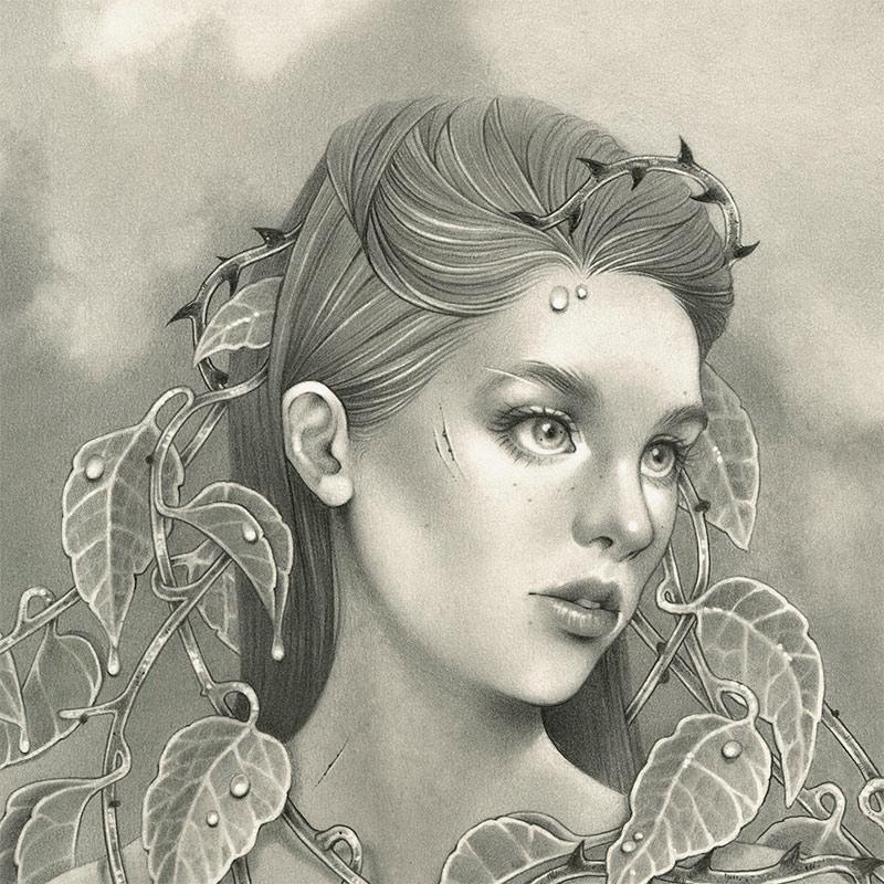 Justya S. Lewandowska - Symbiosis (Detail 1)