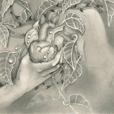 Justya S. Lewandowska - Symbiosis (Detail 2)