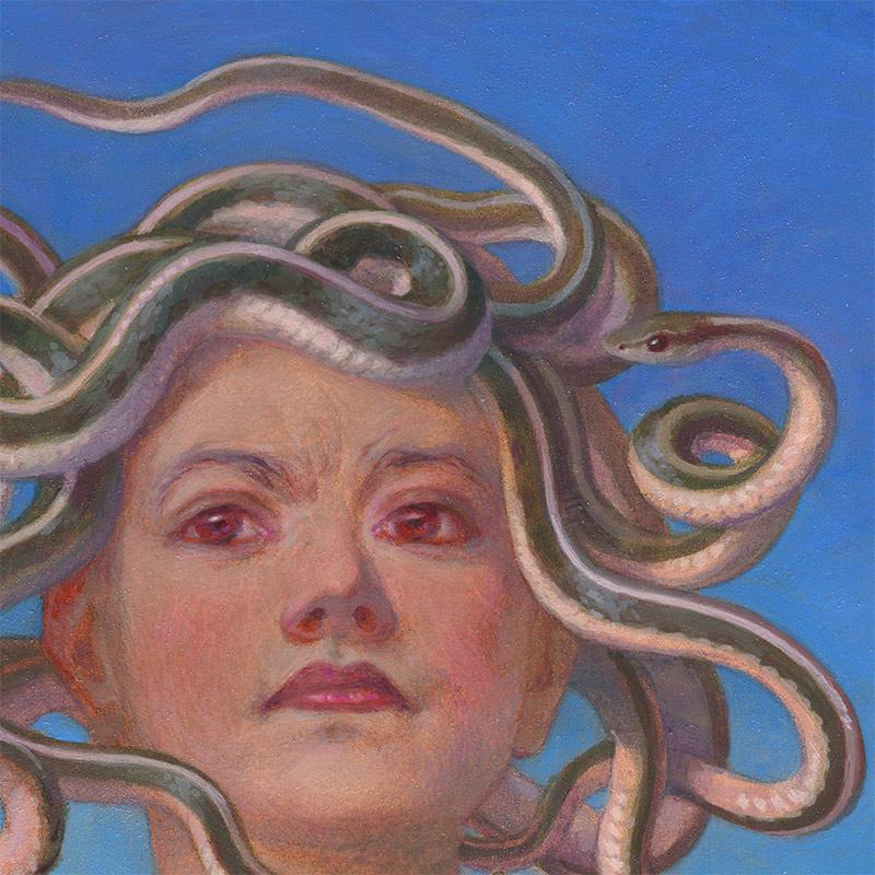 Kristin Kwan - Medusa (Detail 1)