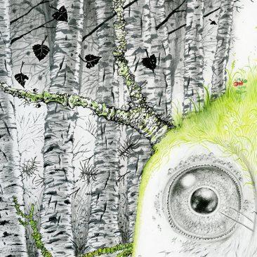 Monika Mitkute - King Dair (Detail 1)