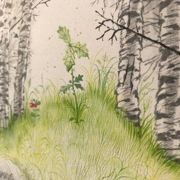 Monika Mitkute - King Dair (Detail 10)